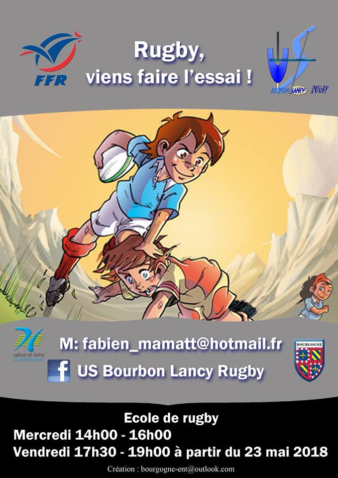 illustration flyers poster Bourbon-Lancy