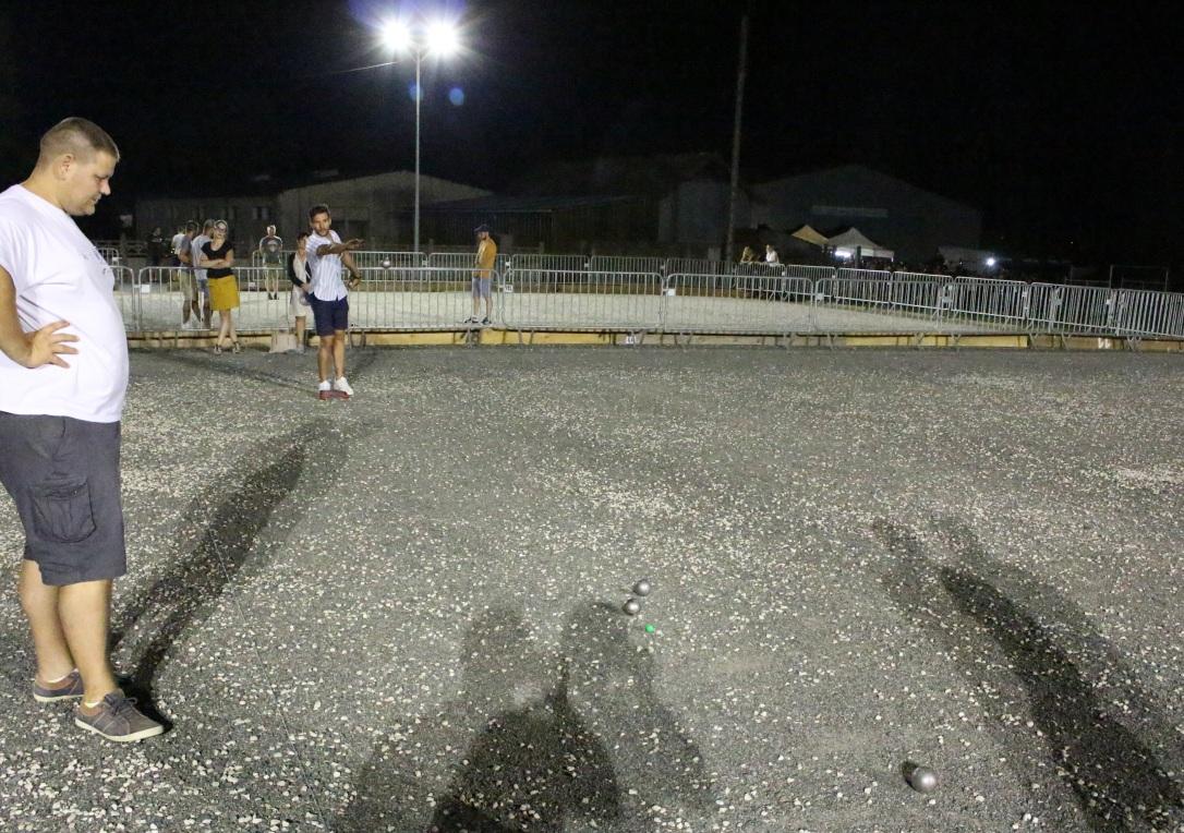 Tournoi de pétanque - Bourbon-Lancy - Rugby Club, juillet 2019